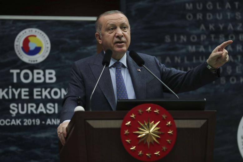 """In the Jan 20 phone call, Erdogan told Trump that Turkey was """"ready to take over the security"""" in Manbij """"without losing time."""""""
