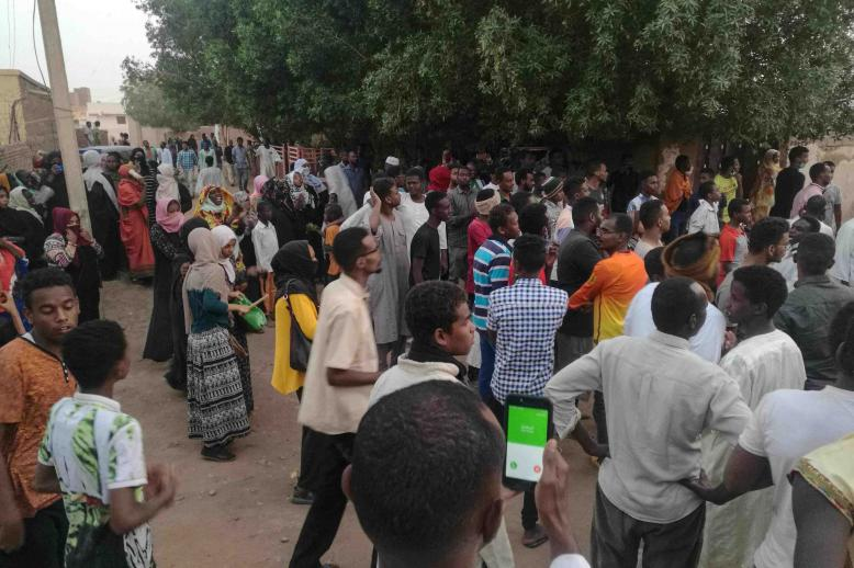 The Sudanese Professionals Association that is spearheading the protest campaign had called on demonstrators to march on the palace