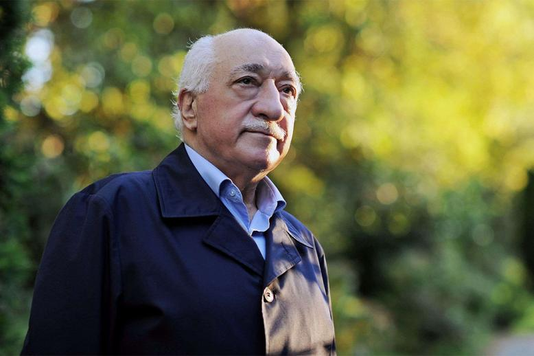 Exiled Turkish Muslim preacher Fethullah Gulen at his residence in Saylorsburg, Pennsylvania