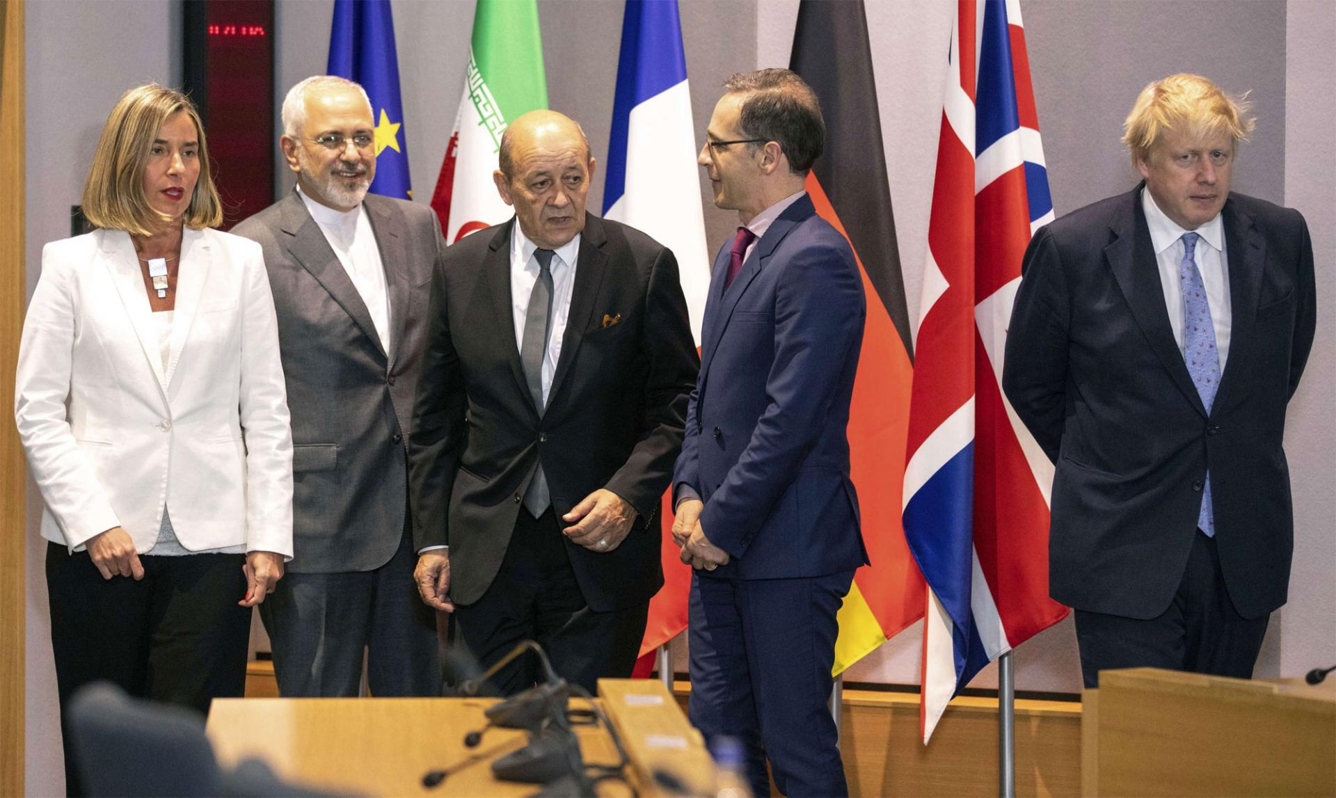 Iran Nuclear Deal Signatories Meet For First Time Since Us Pullout Meo