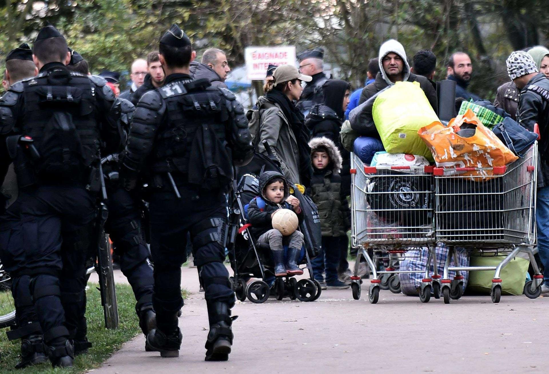 Refugees and others seeking a better life have long used the wooded, lakeside area near Dunkirk as a jumping-off point for attempted crossings