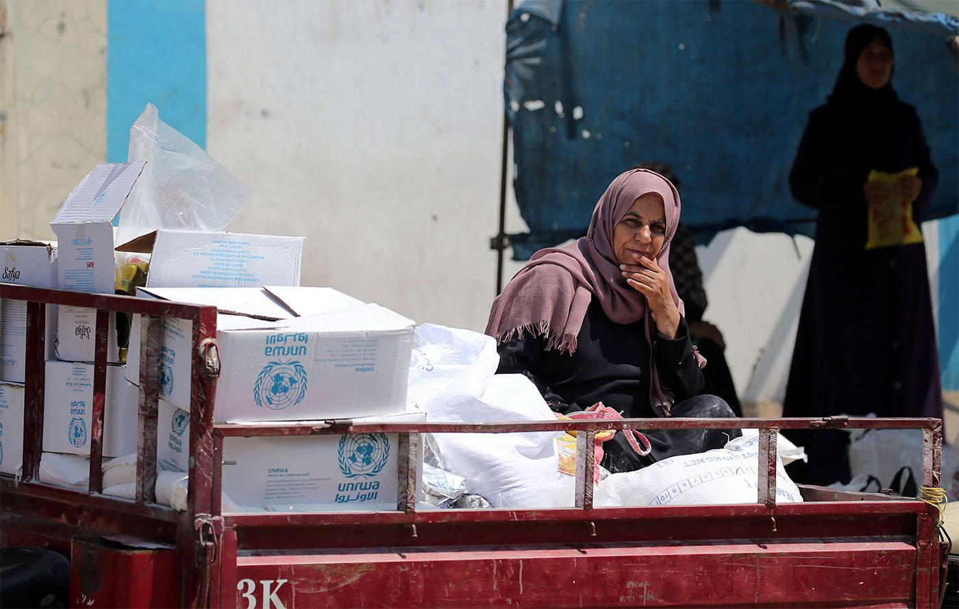 Tough time the UN Relief and Works Agency for Palestine refugees