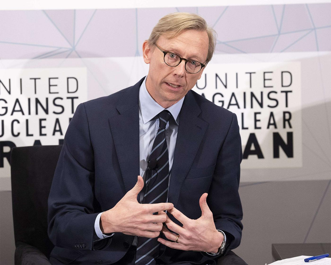 Brian Hook, the State Department's special representative on Iran policy