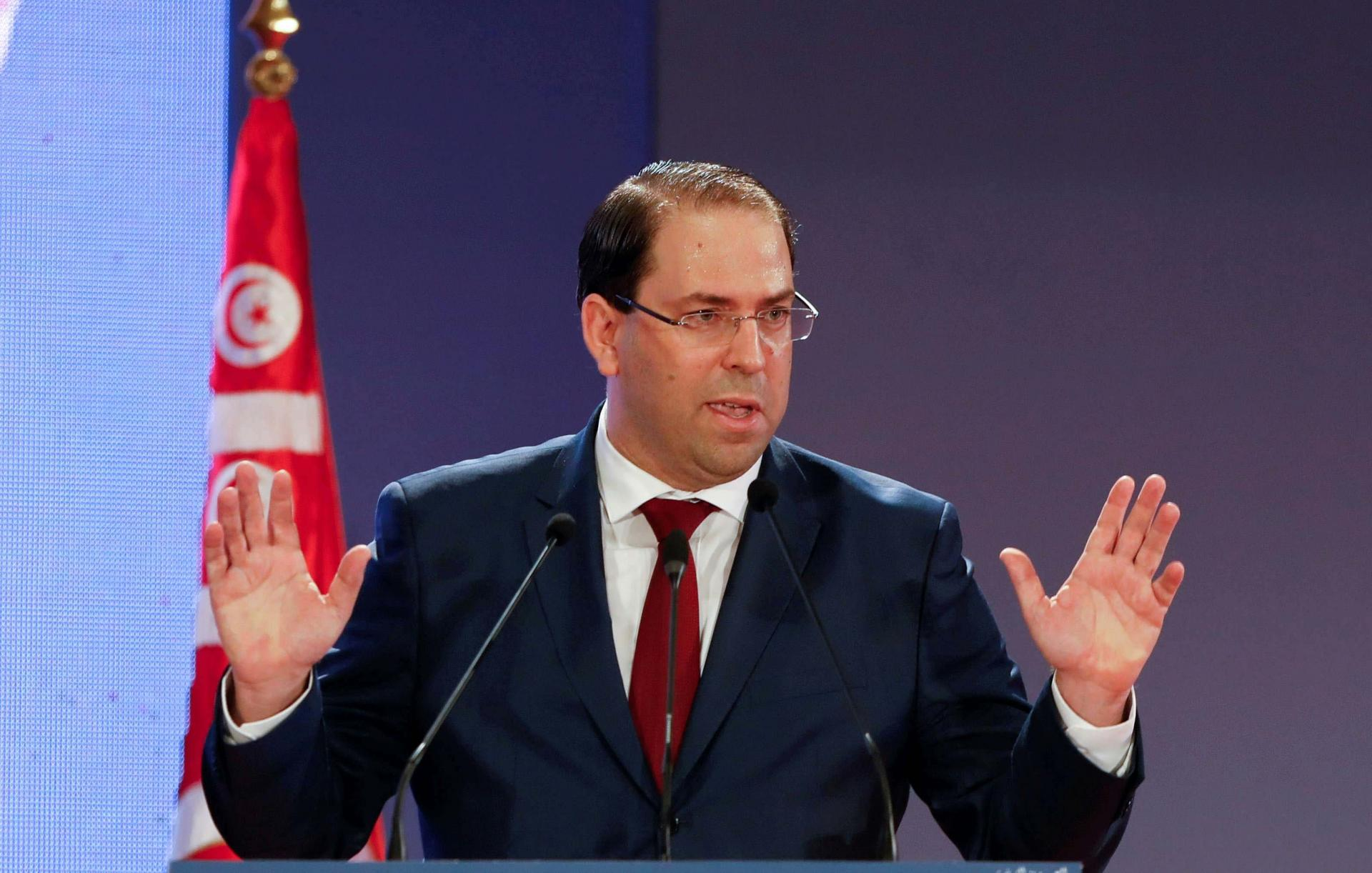 Chahed has been in the hot seat for months due to his tussle with Hafedh Caid Essebsi, who is reported to have presidential ambitions