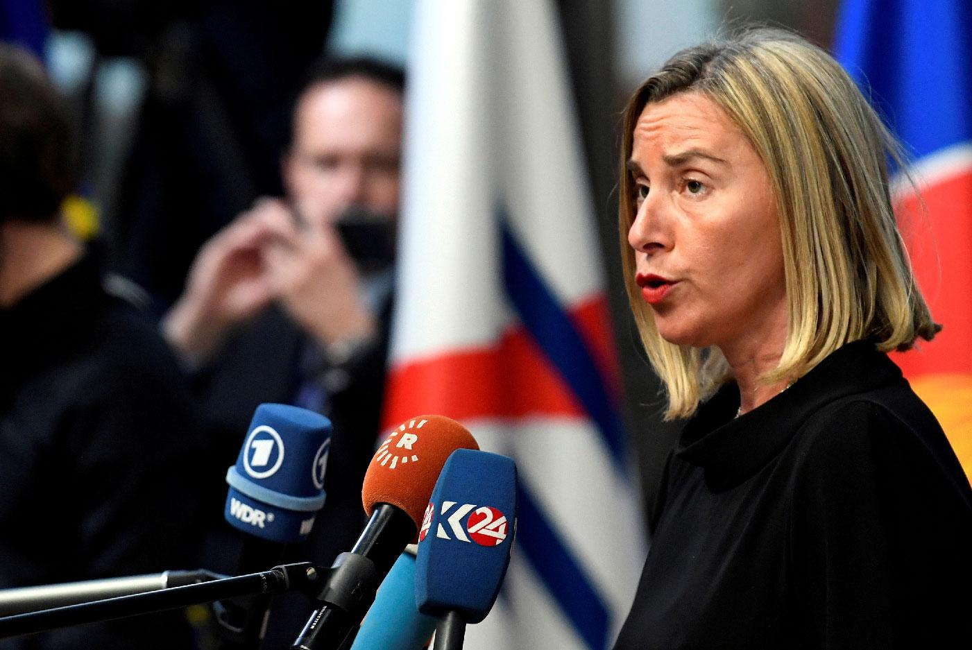 EU Foreign Policy chief Federica Mogherini.