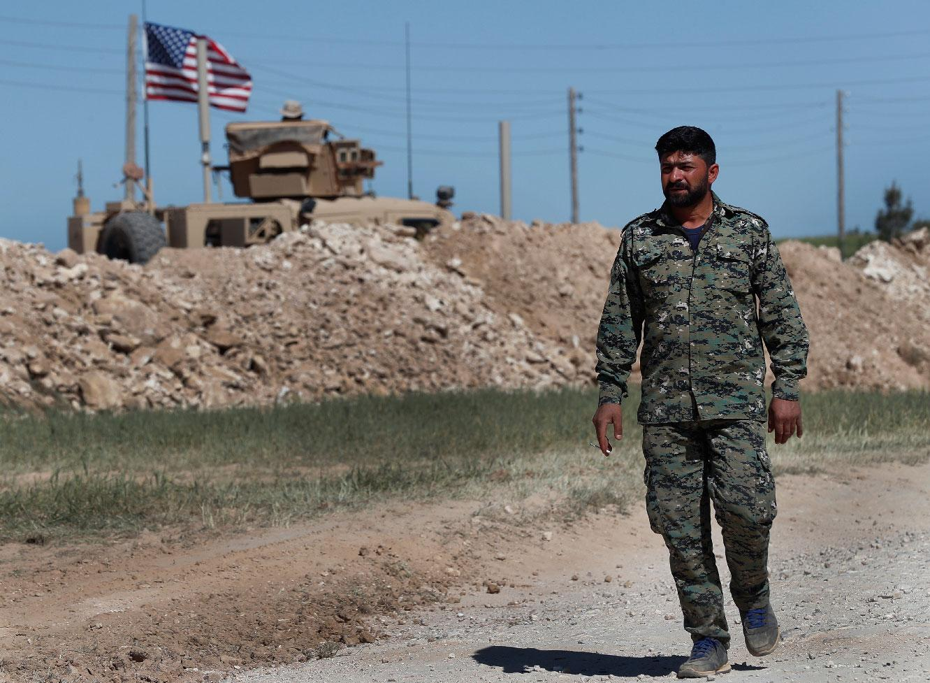 US withdrawal from Syria leaves allies stunned   MEO