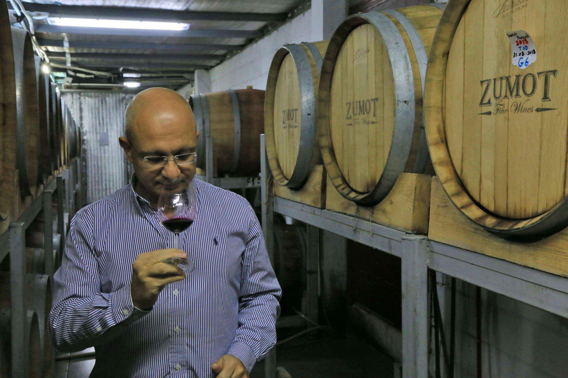 """Wine production started in the Nabatean kingdom """"in the middle of the first century BC"""""""