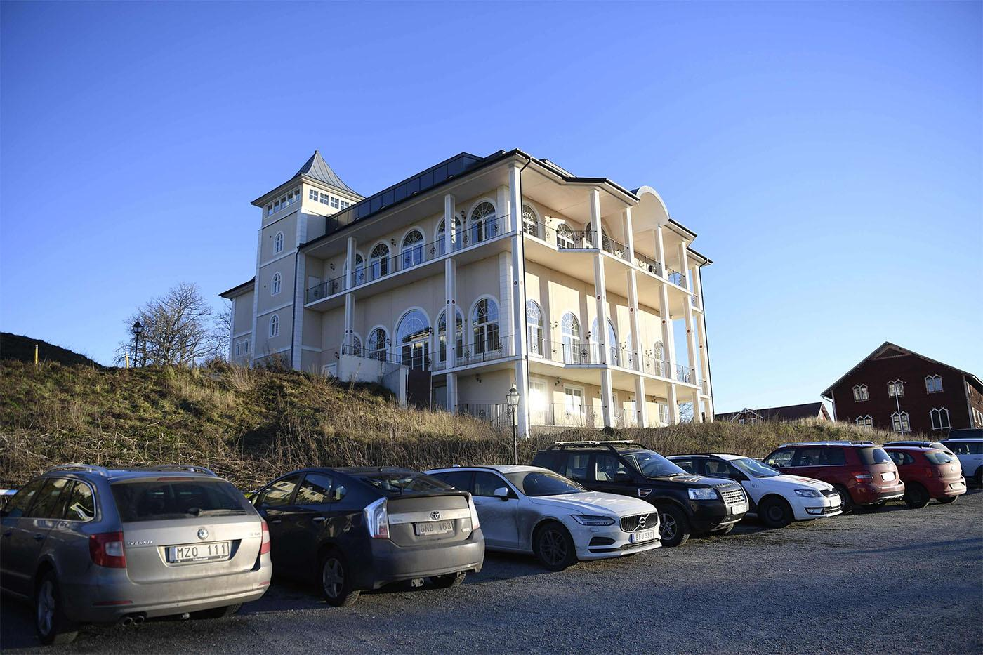 Peace talks are taking place at Johannesberg Castle in Rimbo, 50km north of Stockholm