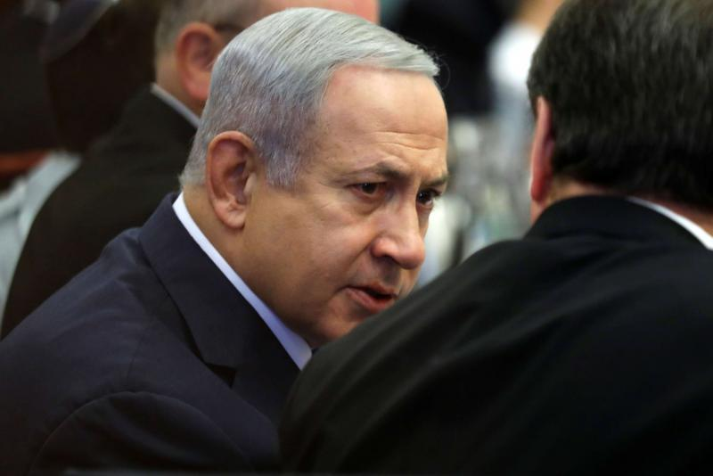 Israeli Prime Minister Binyamin Netanyahu attends the Foreign Affairs and Defense Committee at the Knesset, Israel's Parliament, in Jerusalem November 19, 2018