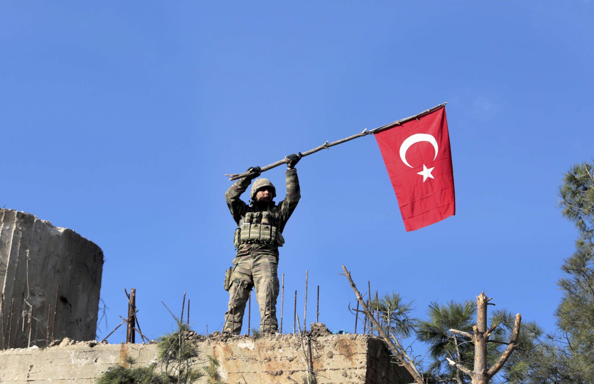 Turkey has carved a sphere of influence in an opposition-held enclave in northwestern Syria around Idlib province