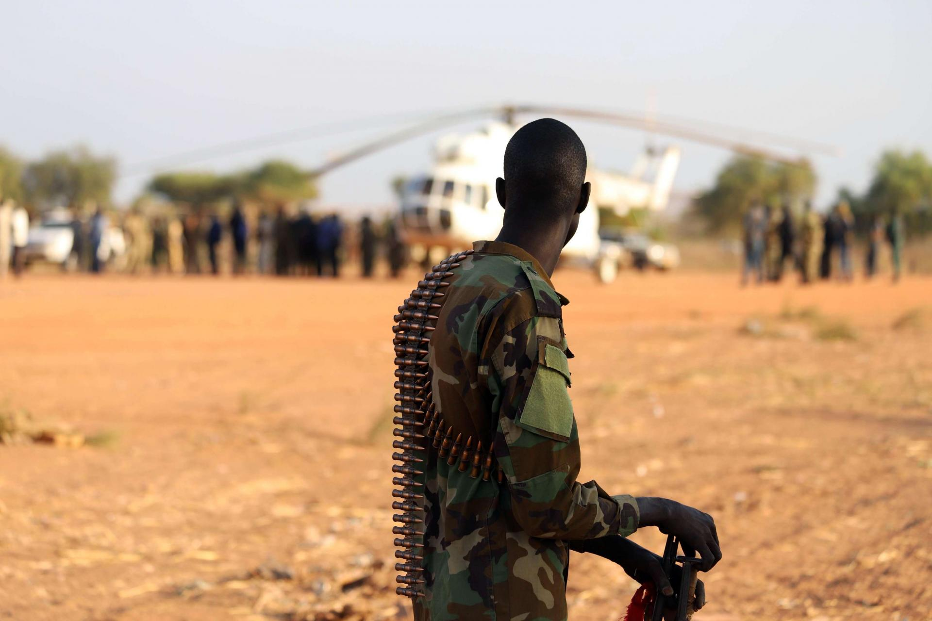 Mubarak was addressing the Sudanese Armed Forces (SAF) in Omdurman, the twin city of the capital Khartoum, both of which have been rocked by protests since December 19.