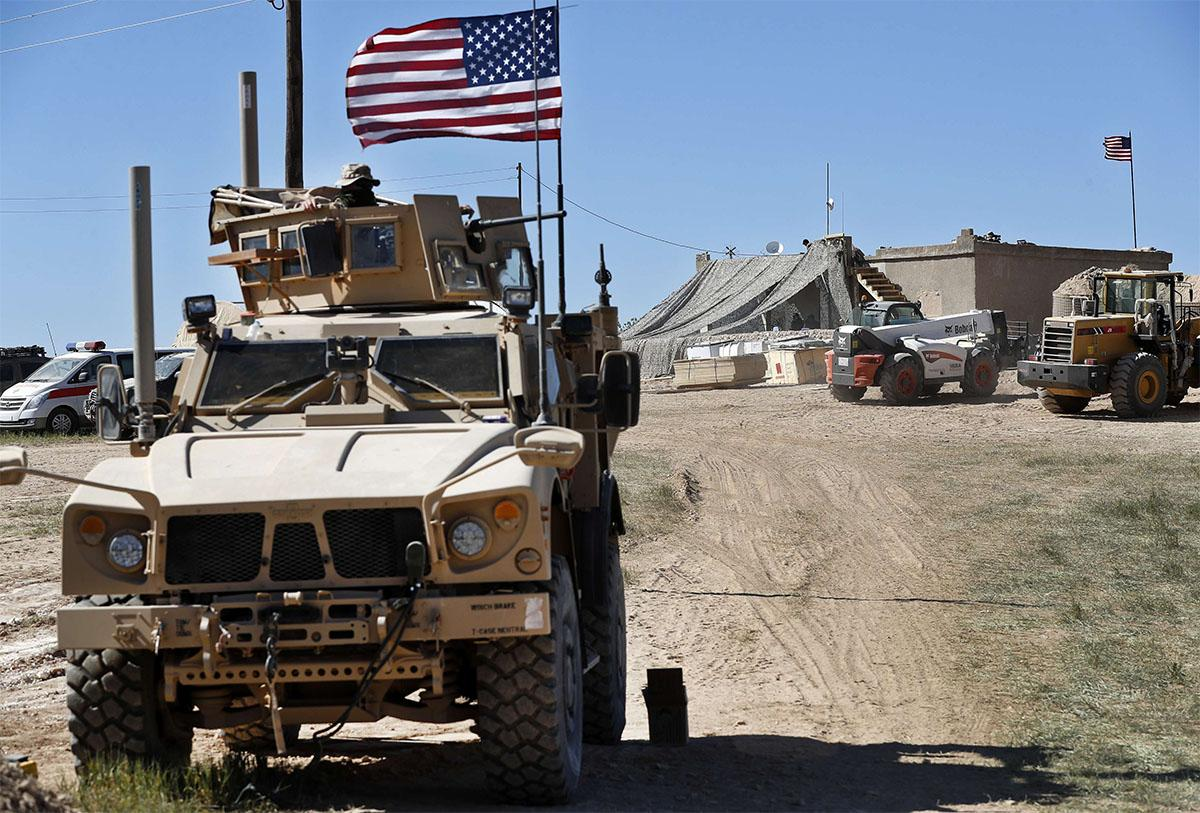 The US military has already started withdrawing equipment from Syria