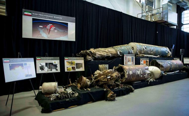 The weapons had characteristics of Iranian manufacture