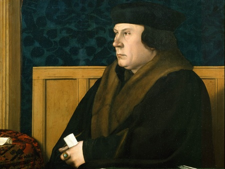 Portrait of Sir Thomas Cromwell by Holbein