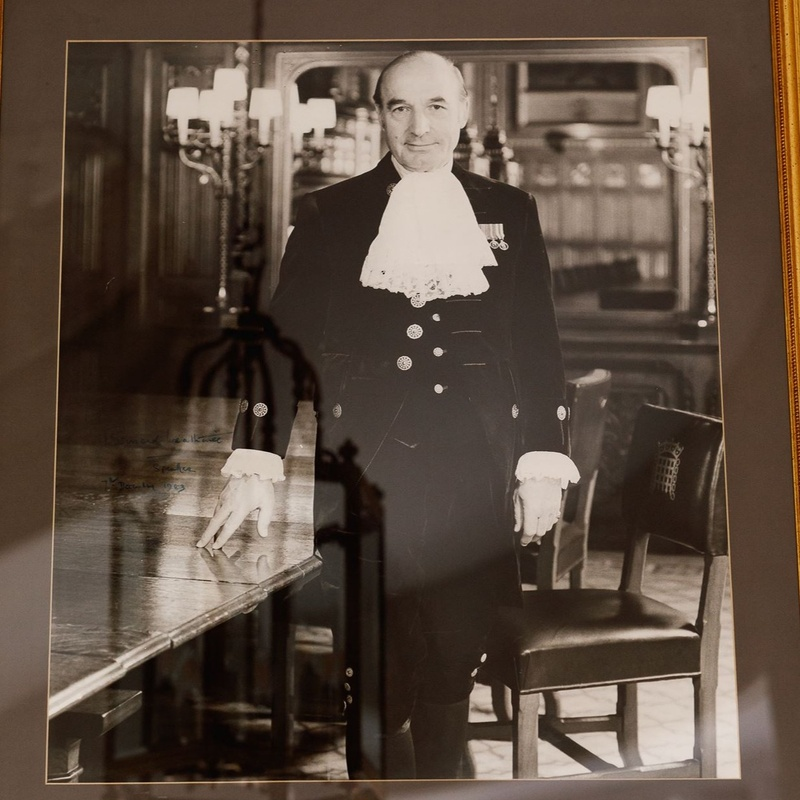 History on Display: The Installation of the late Lord Weatherill's Court Dress uniform