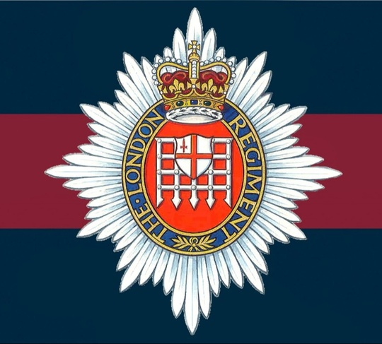 London Regiment badge