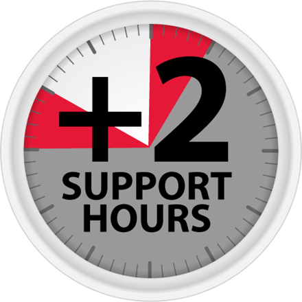We're extending our support hours…