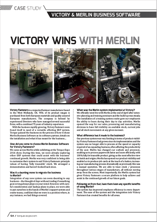 Victory wins with Merlin – Torque Magazine