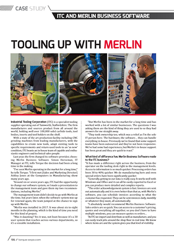 Tooling Up With Merlin – Torque Magazine
