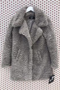 Grey Teddy Coat