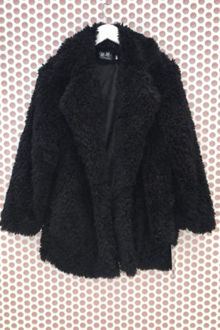 Black Teddy Coat-Copy