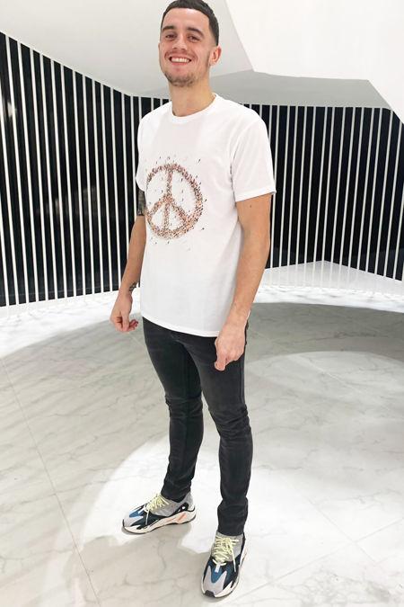 Peace T-shirt  - White