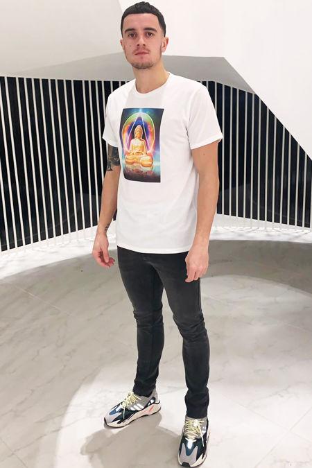 Buddha T-shirt - white