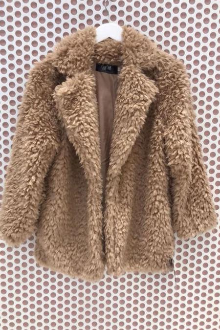 Brown Teddy Coat-Copy