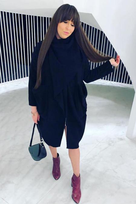 Italian Coat - Black