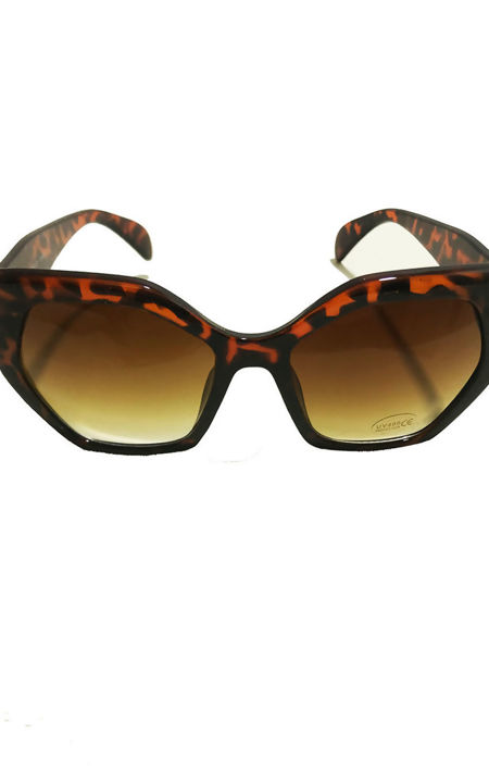 Thick Leopard Sunglasses