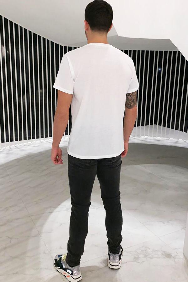 Peace Fingers T-shirt - White