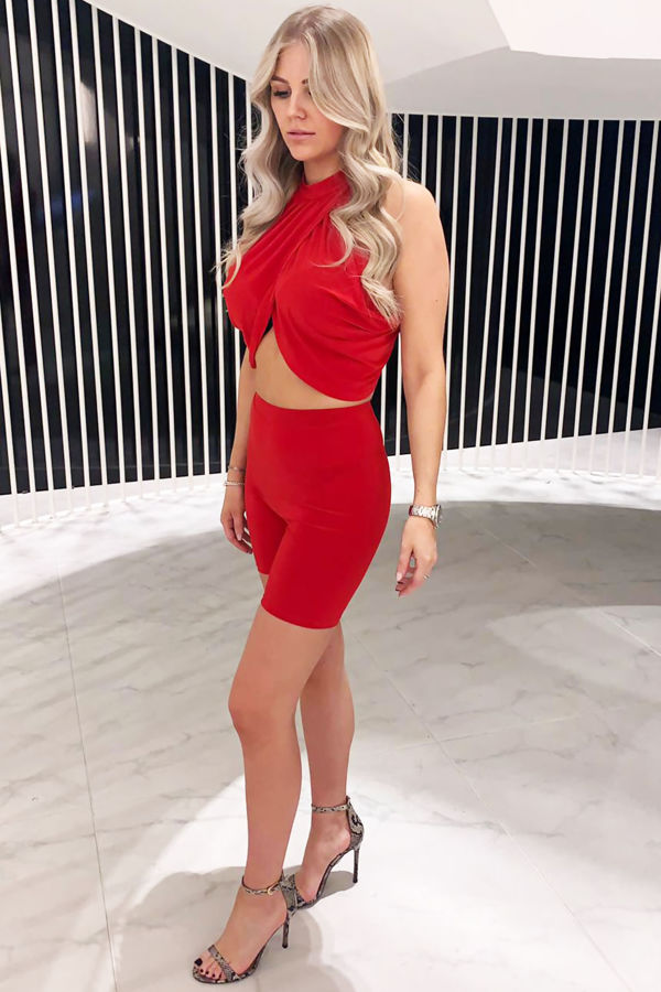 Co-ord - Red