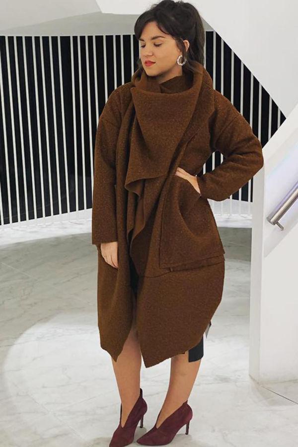 Italian Coat - Camel