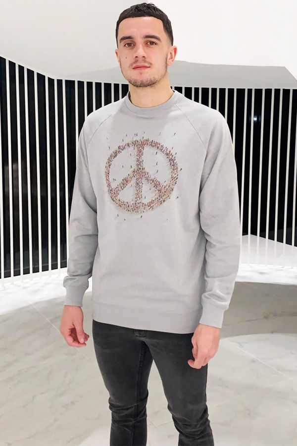 Peace Jumper - Grey