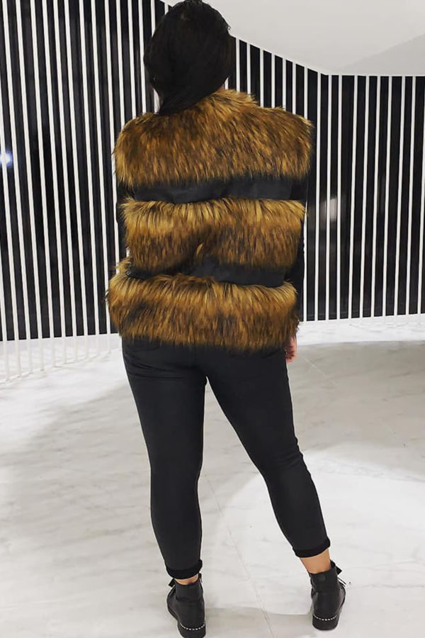 Faux fur Only Gilet