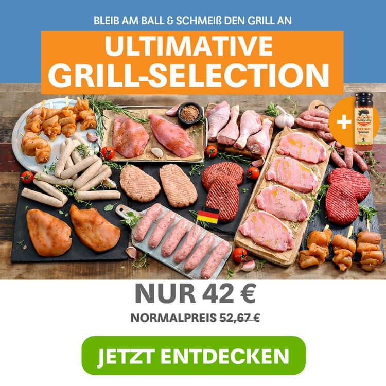 Grill-Selection zur Weltmeisterschaft 2018 von Muscle Food