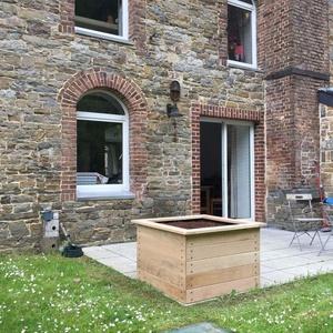 Terrasses - Petit carré 100x100 cm
