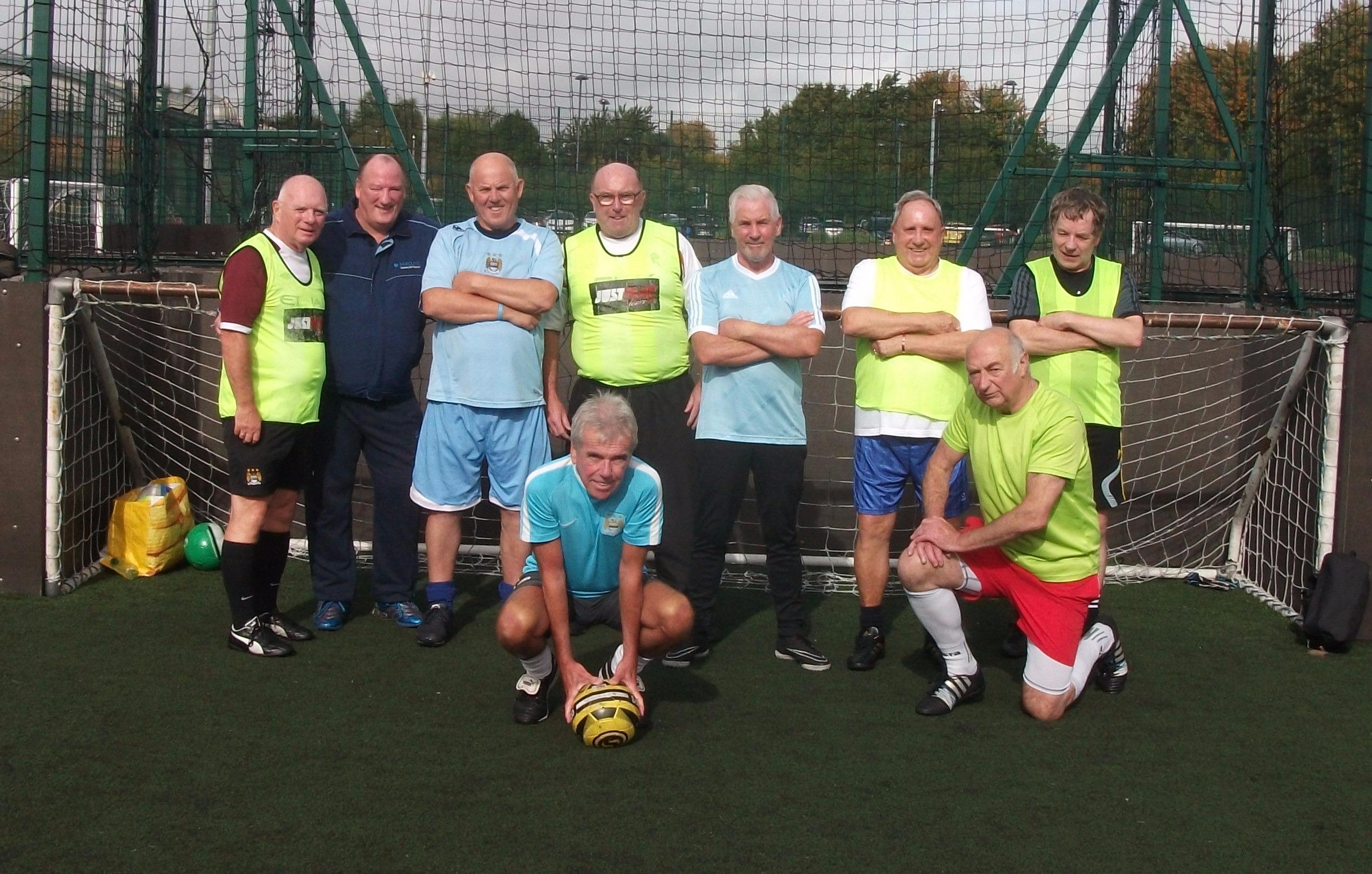 Over 50s Walking Football