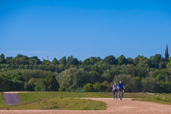 Kersal Wetlands - a new spot to ride your bike
