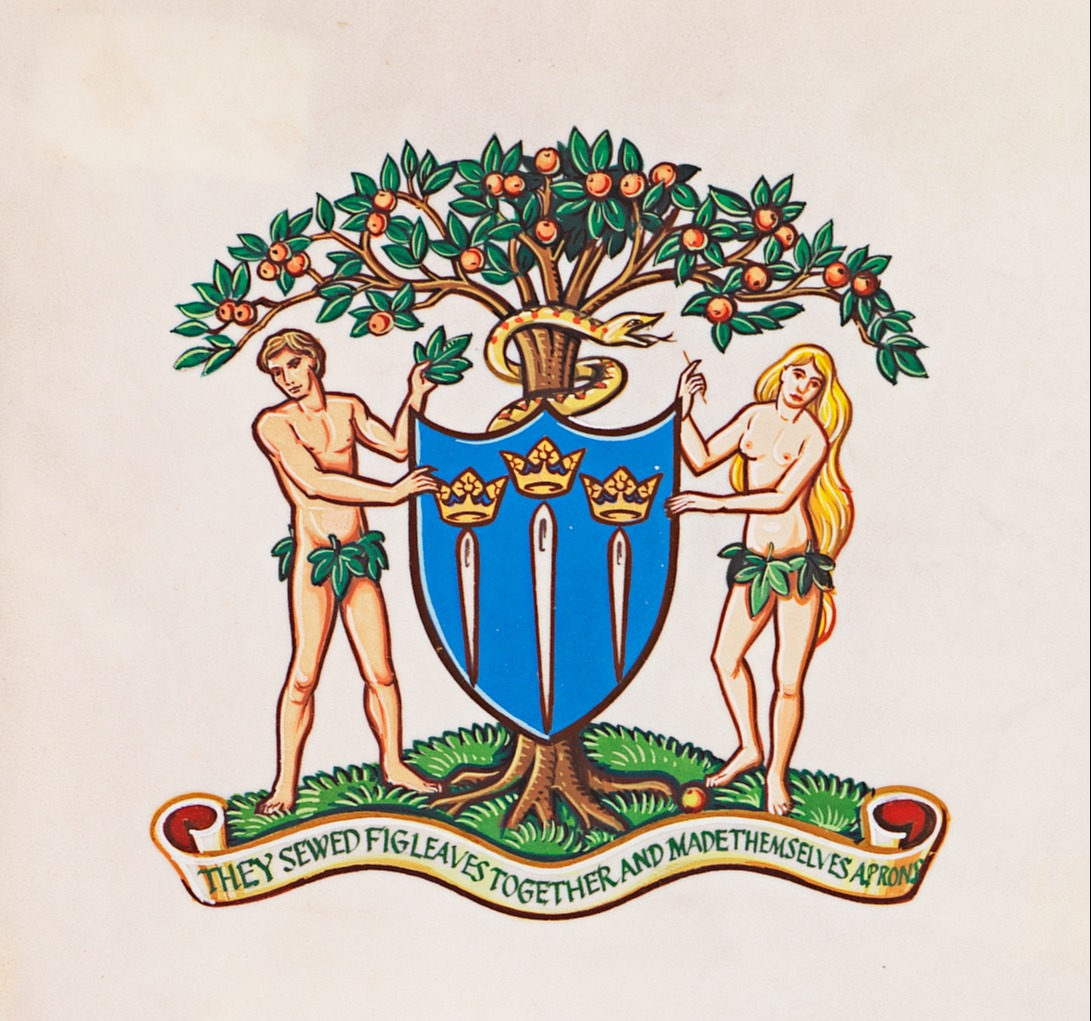 Adam and Eve Crest
