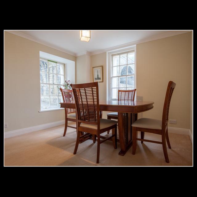 Nethergate's elegant dining room