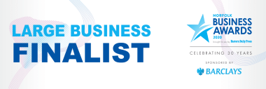 Norfolk Business Awards Large Business Finalist