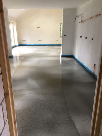 Flow screeding in Norfolk