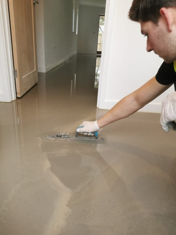 Floor screeding aftercare in Norfolk