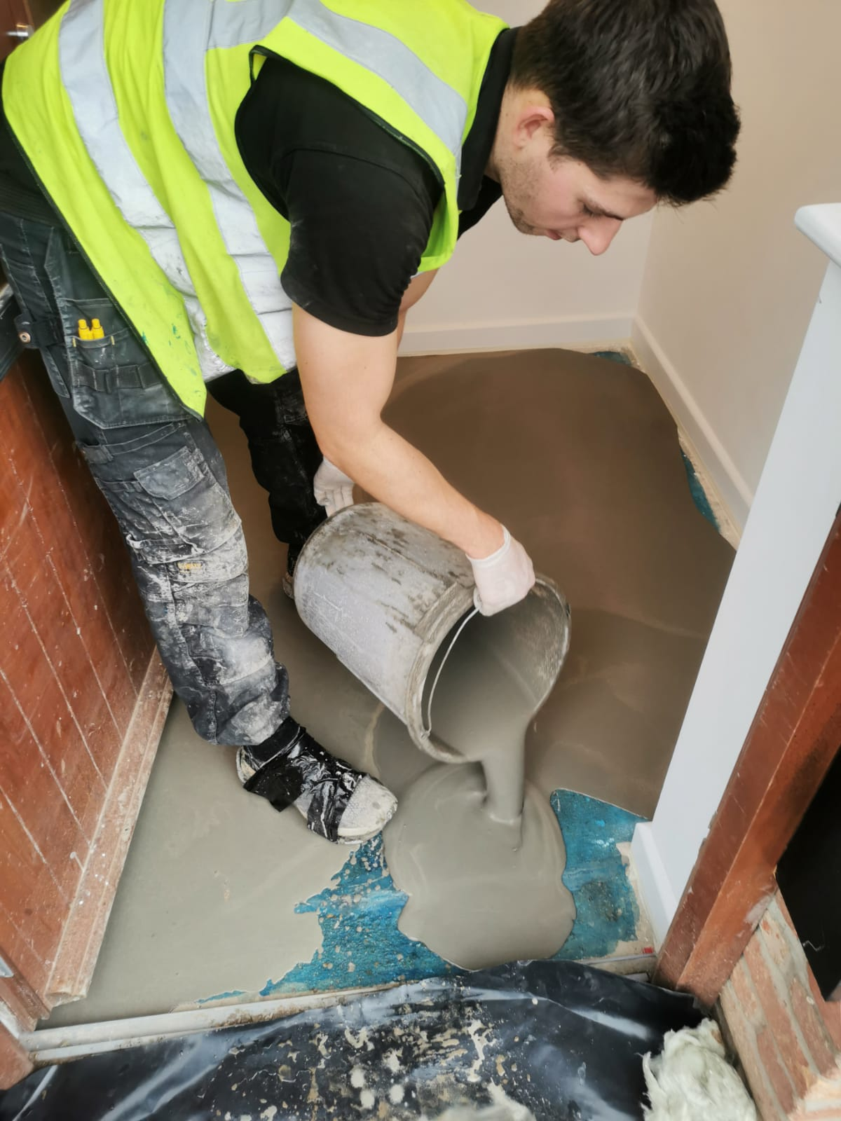 Aftercare is important to great floor screeding