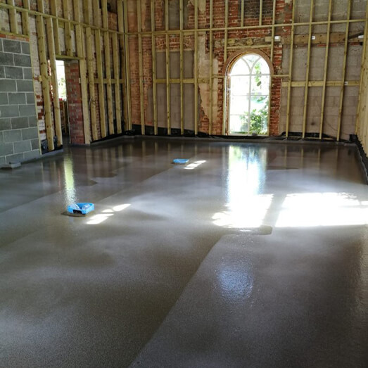 Quick drying floor screed Norfolk