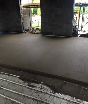 Sand and cement floor screed East Anglia