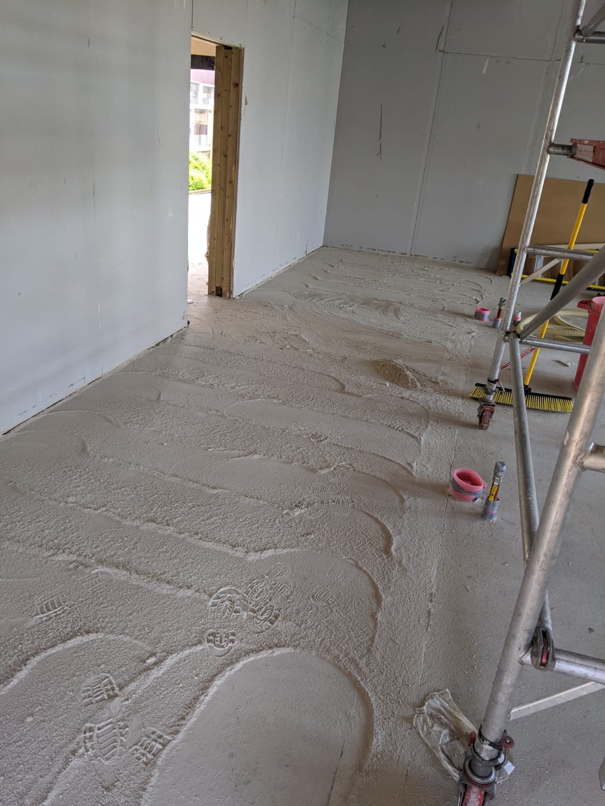 Screed Aftercare image