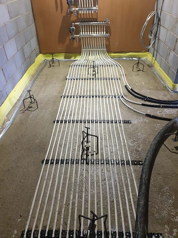 Underfloor heating services Norfolk
