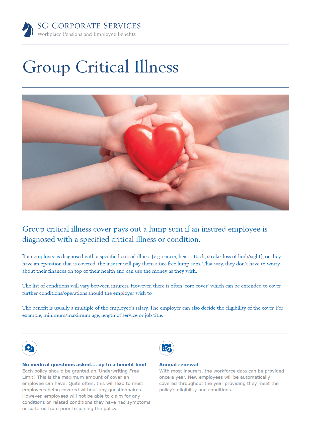 Product Guide - Group Critical Illness